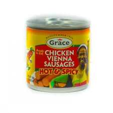 Grace Vienna Sausage Hot and Spicy 130g (4 Tins)