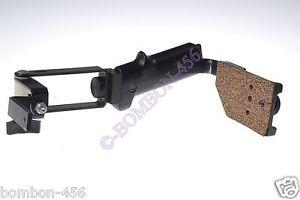 LINDAHL 17-1510 FLASH BRACKET F/ 645 OR DSLR - GRIP/PLATFORM & TOP ARM. TESTED.