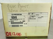 **NEW IN BOX** Chesterton 180WB Single Cartridge Stationary Seal