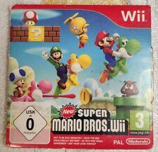 New Super Mario Bros Wii - jeu Nintendo Wii / WII U WIIU / Speel / Game / Spiel
