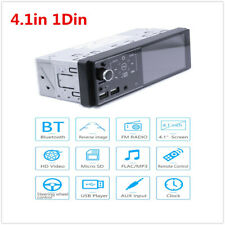 Wince 4.1in 1Din Car Stereo FM Radio Receiver 2USB AUX BT Mirror Link MP5 Player