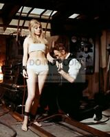 "PETER CUSHING & SUSAN DENBERG IN ""FRANKENSTEIN CREATED WOMAN"" 8X10 PHOTO (RT581)"
