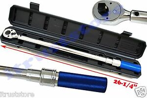 "KOBALT 1/2"" HALF INCH DRIVE CLICK RATCHETING TORK TORQUE WRENCH 50-250 FT-LBS"