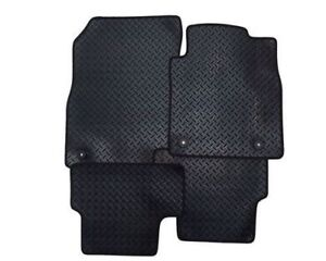 Toyota COROLLA (2003-2009) Fully Tailored Car Floor Mats RUBBER HEAVY 2 Clips