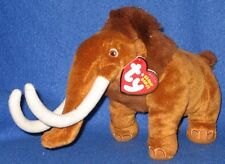 TY MANNY the WOOLY MAMMOTH BEANIE BABY - MINT with MINT TAG (ICE AGE 3 MOVIE)
