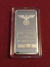 More details for 1 x 7.775g german eagle & cross silver bar ingot .999 . *uk insured mailing.*