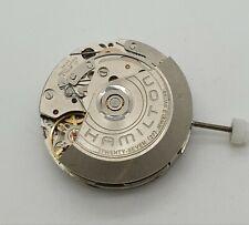 Hamilton automatic ETA 7753 Chronograph 27 jewels movement white date disc at 6