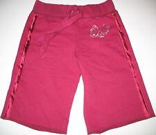 MOSSIMO - ADORABLE BURGANDY FLEECE LINED SWEAT PANTS  -  XS 4/5