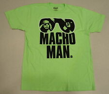WWE AUTHENTIC MACHO MAN RANDY SAVAGE LEGENDS  T-Shirt -LARGE- BRAND NEW