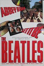 The Beatles Abbey Road / Let It Be CD Original Promo Poster