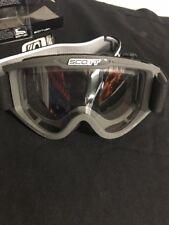 Scott USA Graphite 83X ATV MX Snowmobile Goggle w/ Single Clear Lexan Lens