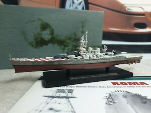 ATLAS EDTIONS - ROMA - 1/1250 SCALE MODEL - BATTLE SHIP COLLECTION