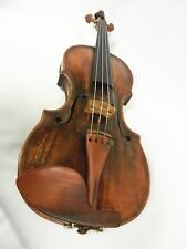 An Old and Original Italian Violin 1702, Great sound, 4/4 size, Ready To Play !