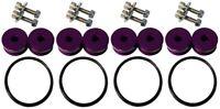 Torque Solution Billet Bumper Quick Release Kit Combo (Purple) - Universal