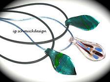 Handgefertigt Modeschmuck-Halsketten & -Anhänger aus Gemischte Metallen mit Tropfen