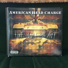 AMERICAN HEAD CHARGE THE WAR OF ART 2001 ROCK METAL CD
