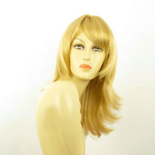 mid length wig for women light blond golden ref: LILI ROSE lg26 PERUK