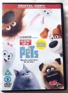 71656 DVD - The Secret Life Of Pets 3 Mini Movie Collection [NEW]  2015  830 749