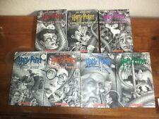 Scholastic 20th Anniversary Complete set Harry Potter Books Brian Selznick Cover