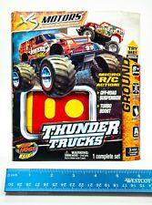 Micro Rc Spin Master Tomy Air Hogs Rc Thunder Trucks Jokers Wild New Sealed Vhtf