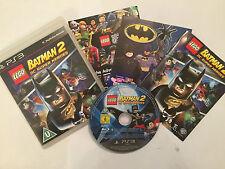 Sony Playstation 3 Juego Lego Batman 2 Dc Super Heroes + Caja Instrucciones Completo