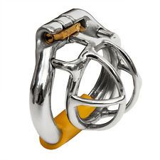 """USA SHIP S052 Stainless Steel Male Chastity Cage Device - Small 1.60"""" Ring"""