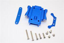 Traxxas XO-1 Supercar Upgrade Parts Aluminum Rear Gear Box Bottom Mount - Blue