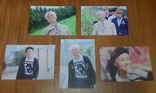 BTS Butterfly Dream Exhibition MD Official Live Photo Rap Monster Lot (5 PCS)