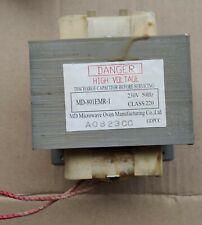 Transformador de microondas MD-801EMR-1 para microondas CANDY. Modelo MIC 201 EX