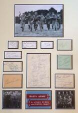 DADS ARMY (ARTHUR LOWE / JAMES BECK +19 MORE CAST) SIGNED AUTOGRAPHS