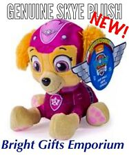 Paw Patrol Skye Pup Pals Plush Soft Toy Air Rescue Genuine Authentic Boy Girl