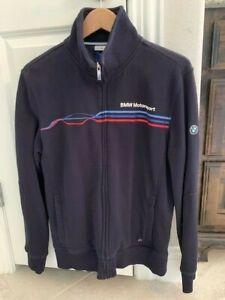 BMW Motorsport zip jacket men's US size MEDIUM