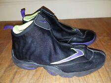 Used VTG Zoom Flight Gary Payton Nike Mens 14 Black Basketball Shoes The Glove