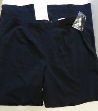 NWT East 5th women's size 14 Petite dark navy dress pants Waist 30-34in. L29in.