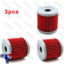 3x Fuel Oil Fiter For Suzuki DR125SM AN400 UH125 UH200 GZ125 LTZ90 UX125 UX150