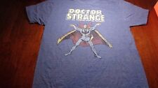 Marvel Doctor Strange T-Shirt Blue Mens Marvel Comics Regular Fit Size L NEW
