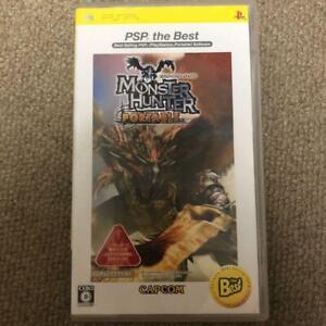 PSP  Monster Hunter Portable PSP the Best 4976219022170 From japan