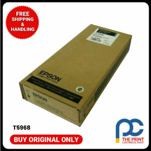 New & Original Epson T5968 Matte Black Ink Cartridge for 7700 7890 7900 9700