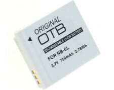 Original OTB Akku Canon NB-6L NB-6LH Digital Kamera Batterie Battery Accu Aku