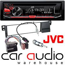 BMW 3 Series E46 2002-05 JVC Car Stereo CD MP3 USB Aux Radio Player RED Display