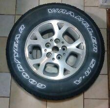 "Jeep Grand Cherokee wheel rim tire OEM 16"" 1999-2004 245/70R16 G/Y Wrangler SR-A"