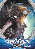 DC Legends of Tomorrow Str Pwr Star Power Card Hawkman Silver