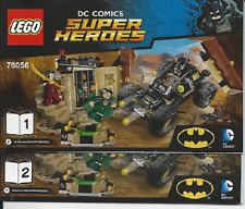 NEW INSTRUCTIONS ONLY LEGO BATMAN RESCUE FROM RA'S AL GHUL 76056 books from set