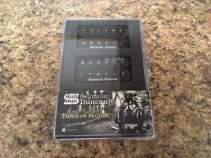 New Seymour Duncan Dave Mustaine Thrash Factor Humbucker Set Black