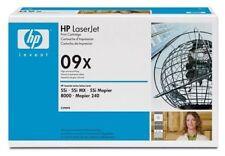 Genuine HP C3909X ** 09X ** Black Toner Cartridge for Laserjet 5Si MX / Mopier