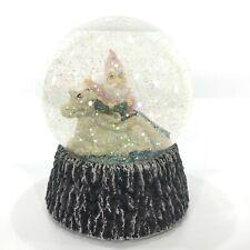 VTG 80s Krystonia Wizard Dragon Graffyn On Grunch Musical Snow Globe England