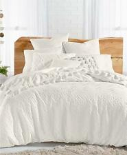 Lucky Brand Taos 100% Cotton Twin / Twin Xl 2 Piece Duvet Cover Set White $250