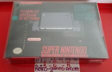 Super Nintendo SNES Cleaning Kit 1992, Made in Japan, Authentic, Sealed Fast sh.