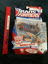 TRANSFORMERS ANIMATED Deluxe Autobot Rodimus Minor Toysrus Exclusive