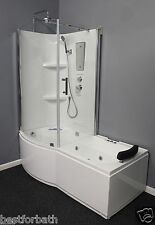 Shower Cabin with Whirlpool Tub.w/Air Bubble,Left or Right corner.USA Warranty